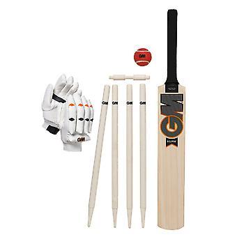 Gunn & Moore Eclipse Niños Cricket Bat Wicket Guante Blanco / Negro / Naranja