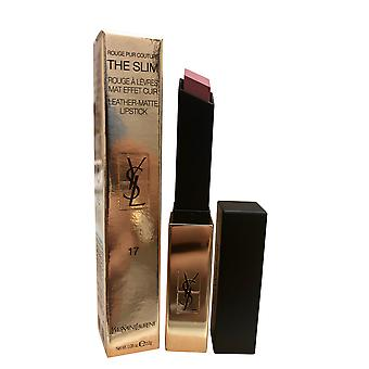 Yves Saint Laurent  Rouge Pur Couture The Slim Leather Matte Lipstick #17 Nude Antonym 0.08 OZ