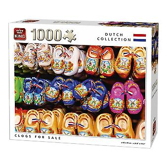 King Jigsaw Puzzle - Clogs For Sale, 1000 Piece