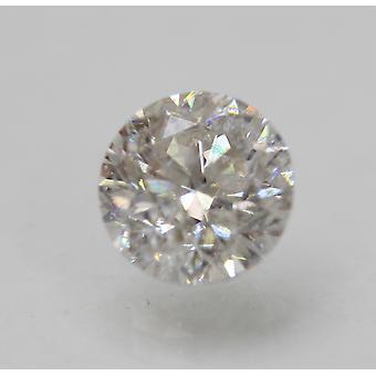 Certified 1.50 Carat E SI1 Round Brilliant Enhanced Natural Loose Diamond 7mm