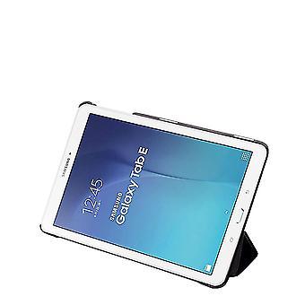 Brown Slim Kompakt PU bőr tok Samsung Galaxy Tab E T560 9.6 &