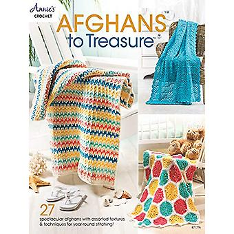 Afghans to Treasure - 27 Spectacular Afghans with Assorted Textures &a