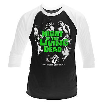 Plan 9 Night Of The Living Dead Longsleeve Official Tee T-Shirt Unisex