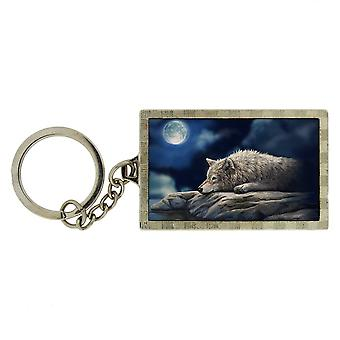 Tranquilreflection 3D Keyring