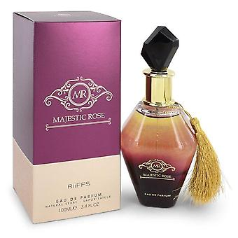 Majestic rose eau de parfum spray (unisex) by riiffs 545893 100 ml