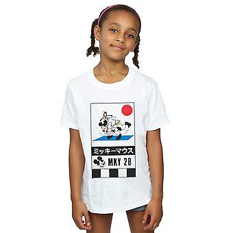 Disney Girls Mickey And Goofy Karate T-Shirt