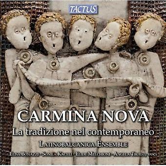 Scattolin - Carmina Nova: La Tradizione Nel Contemporaneo [CD] USA import