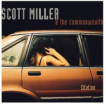 Scott Miller & the Commonwealth - Citation [CD] USA import