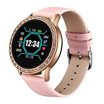 Lige Fashion Sports Smartwatch Fitness Sport Activity Tracker Smartphone Watch iOS Android - Pink