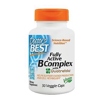 Fully Active B-Complex met Quatrefolic 30 groentecapsules