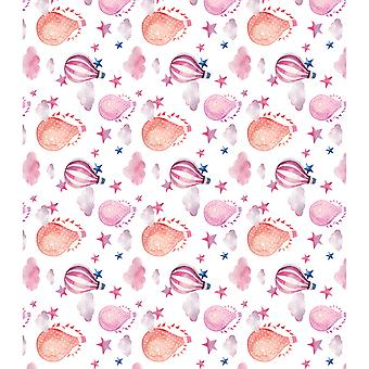 "Craft Consortium Decoupage Papers 13.75""X15.75"" 3/Pkg-Fly With Me"