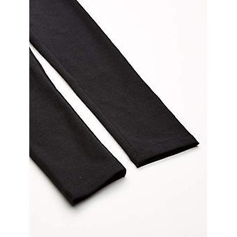 Essentials    Girls' 3-Pack Leggings, black/Heather Grey/Light Pink 4T