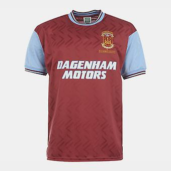 Score Draw West Ham United 94 Home Jersey Mens