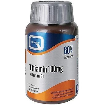 Quest Vitamins Thiamin (Vitamin B1) Tablets 60 (601222)
