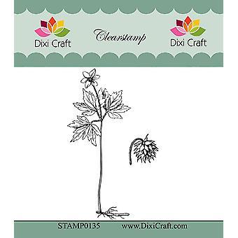 Dixi Craft Botanische Collectie 1 Duidelijke Stempel