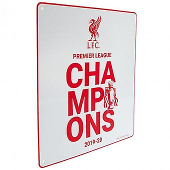 Liverpool Premier League Champions Sign WT