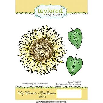 Taylored Expressions Big Blooms - Sunflower