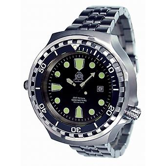 Tauchmeister T0256M Diver Craft 1000 m XXL automatic watch