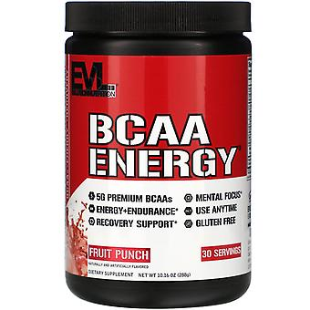 EVLution Nutrition, BCAA ENERGY, Fruit Punch, 10,16 oz (288 g)