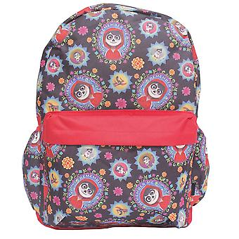 Backpack - Disney - CoCo All-over Print Black New 004187