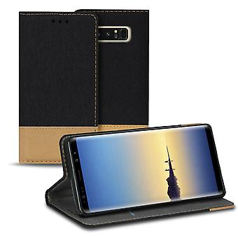 Mobile Case with Short Pocket for Samsung Galaxy Note 8 Phone TPU Jeans Shockproof