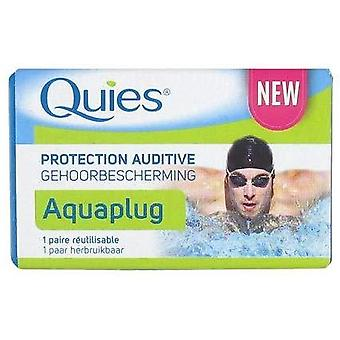 Quies Ear Protection Aquaplug 1 Reusable Pair