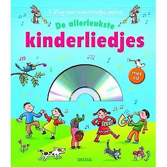 liedjesboek de allerleukste kinderliedjes met CD 23 cm