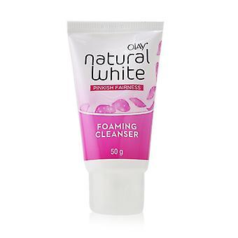 Limpiador espumante de equidad rosada blanca natural - 50g/1.76oz
