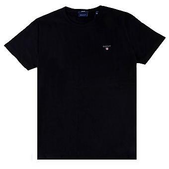 Gant Alkuperäinen SS T-paita - Musta