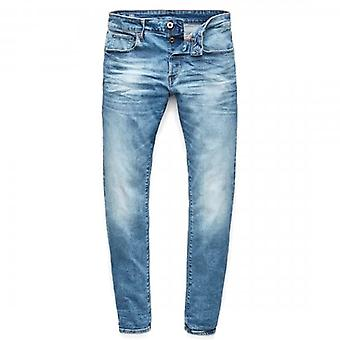 G-Star Raw 3301 Slim Authentic Faded Blue Jeans 51001 B631 A817
