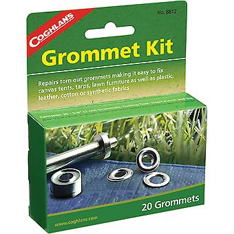 """Coghlan's Grommet Kit, 20 Pack av 3/8"""", Reparation Fix Canvas Tält, Tarps & Tyger"""