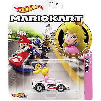 Hot Wheels Die-cast Peach Standard Mario Kart Kids Speelgoed