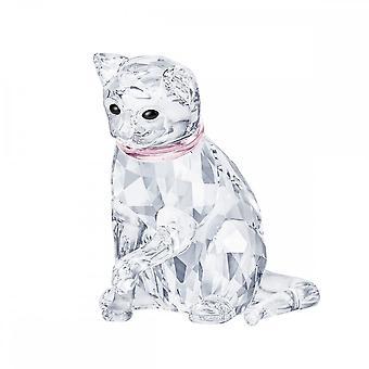 Swarovski Cat Mother Crystal Sculpture 5465836