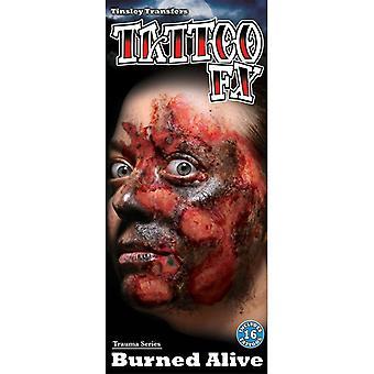 Tinsley Transfers Trauma Series (Burned Alive)