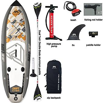 Inflatable fishing sup board stand up paddleboard surfing with incubator