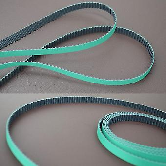 Horizontal Opening Pattern, Rubber Belt For Electronic Smart Curtain Track