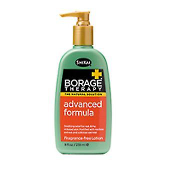 Shikai Borage Therapy Advanced Formula Lotion, 8 oz