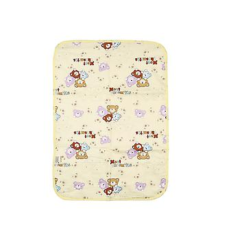 Baby Baby Baby Cartoon Home Waterproof Pasgeboren Luier Pad- Soft Cotton Luier