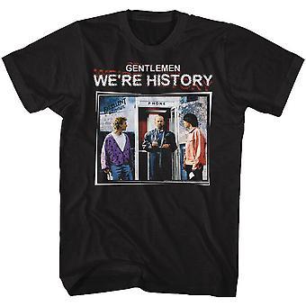 ביל ו טדים הרפתקה מצוינת אנחנו & apos;re היסטוריה צבע חולצת טריקו