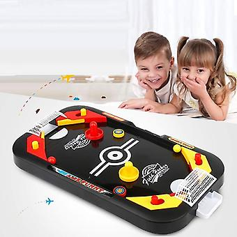 Mini Air Hockey Tisch Desktop Battle 2 In 1 Eishockey Spiel Freizeit-