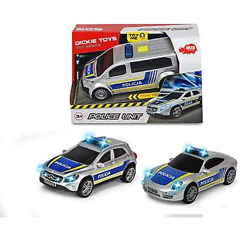 Dickie Toys Police Unit Lights and Sounds (One at Random)