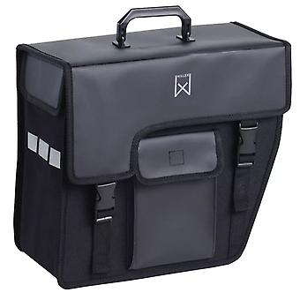 Willex bike bag 17 L Black bevelled right 10240