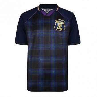 Score Draw Scotland 1996 Euro Championship Retro Football Shirt