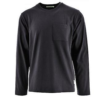Nudie Jeans Rudi Black Pocket T-Shirt