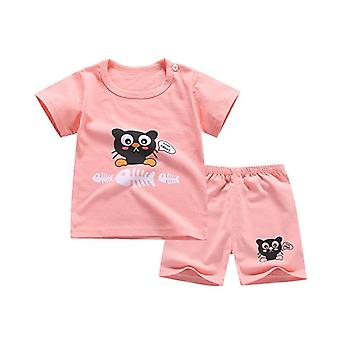 Puha rövidnadrág suit póló Sodder Kids Dinosaur Cartoon Infant Clothes Olcsó