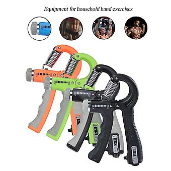 R-Shape Adjustable Hand Grip Sports Strength Countable Exercise Strengthener Gripper Spring Finger Pinch Carpal Expander