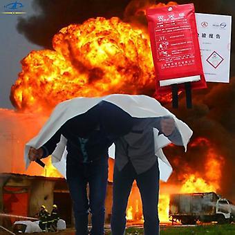الألياف الزجاجية الحيوية الزجاج المقاوم للحريق، بطانية - المأوى حريق البقاء على قيد الحياة في حالات الطوارئ