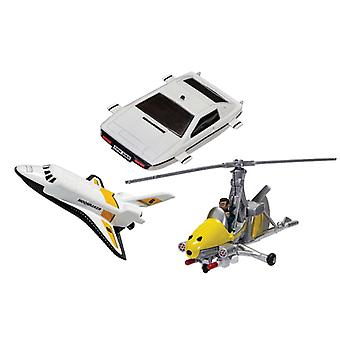 Space Shuttle  Little Nellie  Lotus Esprit (Triple Pack) from James Bond