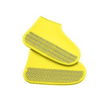Vedenpitävä kenkä kansi silikoni materiaali Unisex kengät suojat sadesaappaat sisätiloissa ulkona sateinen päivää