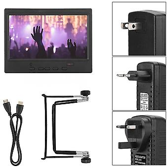 Portable Monitor, Multi-functional Display Support Hdmi/vga/av Input For Car